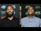 Jon Jones vs Daniel Cormier off air DEATH THREATS on ESPN
