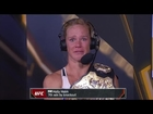 Holly Holm gets emotional after beating Ronda Rousey