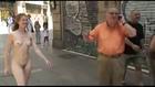 naked girls walking and talking