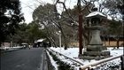 Kinkaku-ji Golden Pavilion Covered with Snow. Kyoto, Japan