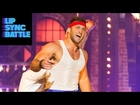 Tim Tebow as Rocky Balboa performs Survivor's
