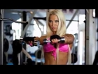 Female Fitness Model Motivation   Push Yourself