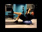Killer Ab Workout For Men and Women - Bosu / Medicine Ball Circuit Training Obliques Exercises Home