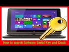 How to search Software Serial Key and Crack