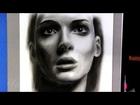 Вайнона Райдер портрет. Winona Ryder Drawing.