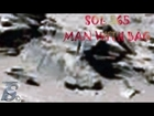 Mars Anomaly Sol 565 - Man Walking With Bag & Drying His Cloths CURIOSITY ROVER ANOMALIES