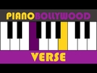 Muskurane [Citylights] - Easy PIANO TUTORIAL - Verse [Both Hands]