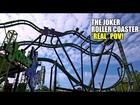 The Joker Roller Coaster REAL POV! Spinning 4th Dimension Ride! Six Flags Great Adventure