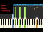 Ellie Goulding - Love Me Like You Do - Piano Tutorial - 50 Shades of Grey - Synthesia