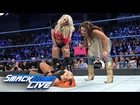 Mickie James and Alexa Bliss ambush Becky Lynch: SmackDown LIVE, Jan. 24, 2017