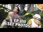 Star Wars Episode 8 Set Photos Reveal! (Nerdist News w/ Jessica Chobot)