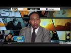 ESPN FIRST TAKE (6/17/2016) STEPHEN A SMITH RESPONDS TO AYESHA CURRY TWEETS ABOUT HIM