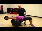 Longevity Studios Exercise Series | Stability Ball Medicine Ball Pullover