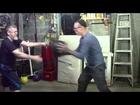 Medicine Ball Two-Person Exercise