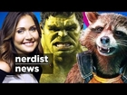 Will THE HULK be in Marvel's GUARDIANS OF THE GALAXY 2?! (Nerdist News w/ Jessica Chobot)