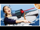 The US Navy has frickin ROBOT DRONE SHARKS!! (Nerdist News w/ Jessica Chobot)