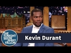 Kevin Durant Plays NBA 2K15 as LeBron James