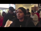 Raw Video of Protesters Disrupting 100-Year-Old Navy Veteran's Award Ceremony