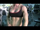 Suzanne sexy female abs gym #bodybuilding motivation
