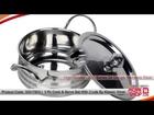 Homeshop18.com - 3 Pc Cook & Serve Set With 3 Lids By Klassic Vimal