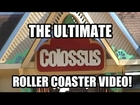 Ultimate Colossus Roller Coaster POV Video Six Flags Magic Mountain