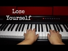 Lose Yourself - Eminem Easy Piano Tutorial || Jess Harris