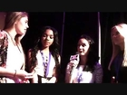 Alli Simpson, Lia Marie Johnson, Teala Dunn Interview With Alexisjoyvipaccess - Vidcon