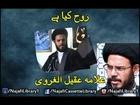 Rooh Kya Hai | Allama Aqeel-ul-Gharvi P-1