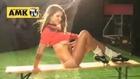 Lucy Pinder'le futbol özel