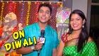 Suyash Tilak & Suruchi Adarkar On Diwali - Ka Re Durava - Zee Marathi Serial