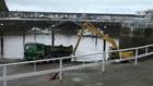 Continúan las labores de dragado en el puerto de Candás