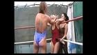 Cool and hot tattooed girls (figure 4 leg lock female, single leg lock). Strong black female wrestling
