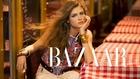 Yulia Serzhantova is Hippie Glam by Benjamin Kanarek for Harper's Bazaar
