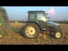 Pressatura Stocchi Mais - F.lli Lunardi - New Holland TL70 + John Deere 592